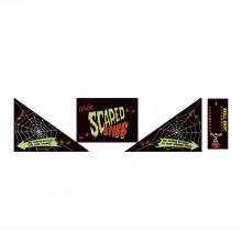 Scared Stiff - Apron Decal Set