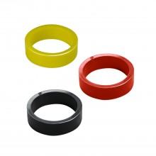 Silicone flipper rubber - Standard size - Black