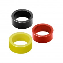 Silicone flipper rubber - Small size - Yellow