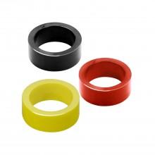 Silicone flipper rubber - Small size - Red