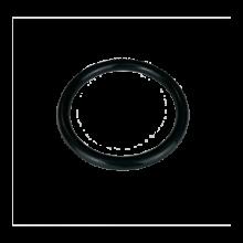 """Silicone rubber 2"""" - Black"""