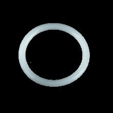 "Elastico silicone 2"" - Bianco trasparente"