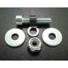 Screw set for plunger with link