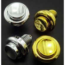 Flipper button plastic - Gold look