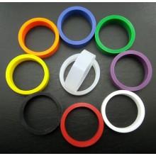 Silicone flipper rubber - Standard size - Green