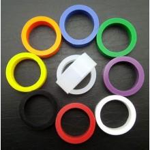 Silicone flipper rubber - Small size - Orange