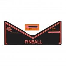 Fireball II  - Apron Decal Set