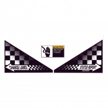 Indianapolis 500 - Apron Decal Set