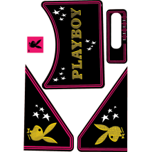 Playboy Stern - Apron Decal Set