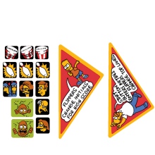 The Simpsons - Apron Decal Set