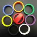 Flipper rubber - Standard size - Black