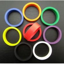 Elastico paletta in gomma - Standard size - Nero