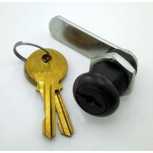 Universal coin door lock, 1-1/8""