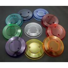 Pop bumper cap Williams/Bally 03-8254, transparent, red
