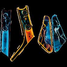 Tron Legacy - Slingshot / Inlane plastic set