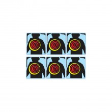 Lethal Weapon 3 Target Decals