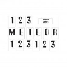 Meteor Target Decals