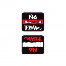No Fear Spinner Decals