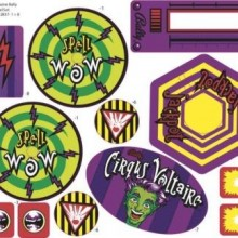 Cirqus Voltaire Decal Set
