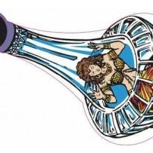 Tales of the Arabian Nights Genie in Bottle Decal