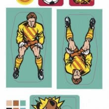 World Cup Soccer Decal Set