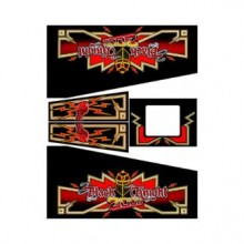 Black Knight 2000 Cabinet Decal Set
