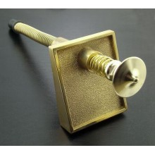 Ball Shooter, complete, gold plated