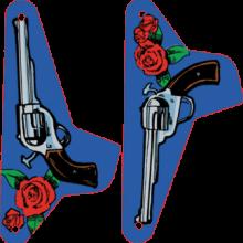 Guns N' Roses Slingshot set