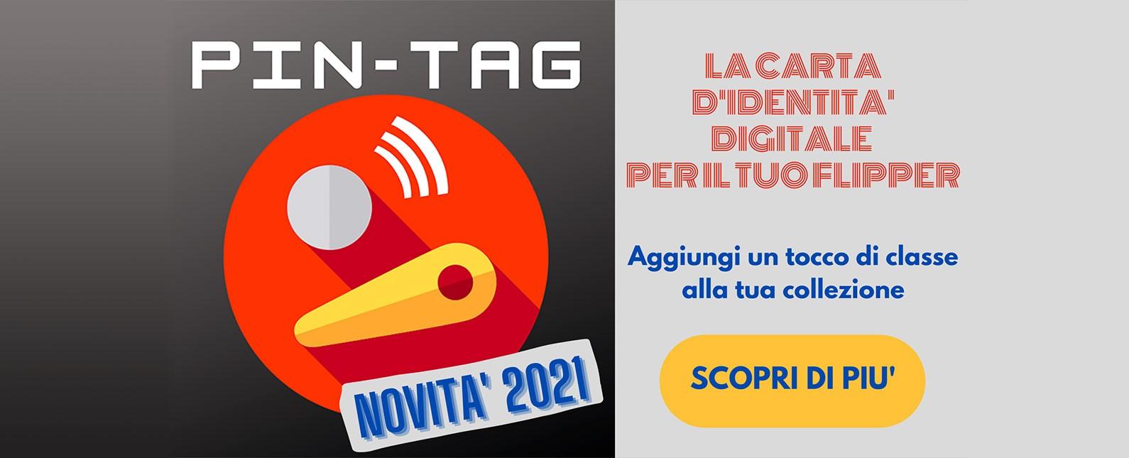 Pin-Tag - la carta di identita' digitale dei tuoi Flipper!